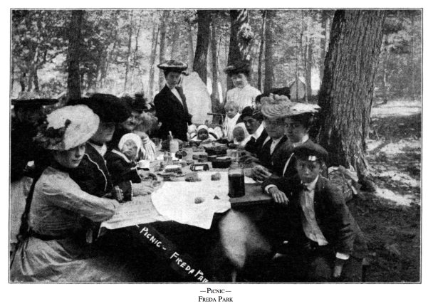 picnic historical photo